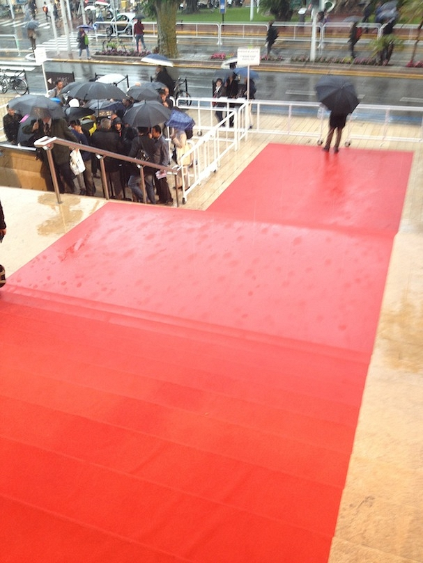 red carpet rain